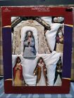 Holiday Time Inspirational Set Nativity Collection seven piece