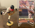 1999 Starting Lineup Classic Doubles Greg Maddux Figurine and Card Braves