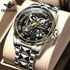Automatic Mechanical Tungsten Steel Skeleton Shapphire Glass Latest Mens Watches