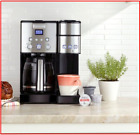Cuisinart Coffee Center 12 Cup Coffee Maker with Water Filtration Black Stai