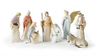 Arora Designs 8 pc Nativity Set A Stylized Vignette of The First Christmas a