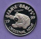 ESTATE SALE -1999 TY OFC ORIGINAL NINE RETIRED BEANIE BABIES COIN -