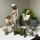 Willow Tree hand painted sculpted figures Nativity 6 piece set NEW IN BOX