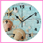 Round Wall Clocks Quiet Battery Operated Living Room Silent Non Ticking Desk