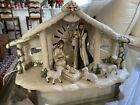 Hawthorne Village Irish Nativity Figurines Holy Creche  Joseph Mary  Jesus