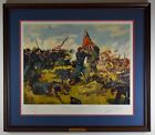 Don Troiani Signed Civil War Print Fight for the Colors 1863 TC 109