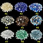 10 20 30 LBS 1 2 Reflective Fire Glass Rocks Fireplace Fire Pit Outdoor Indoor