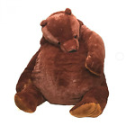 100cm giant simulation DJUNGELSKOG bear toy Brown Teddy Bear Stuffed Animal Toys