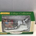 Lemax Christmas Village Figurine NIB SLEIGH RIDE 2006 RETIRED New Box FAST! FREE