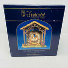 Fontanini 5 Christ Collection The Birth of Christ Stable Nativity Set  50613