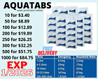 Emergency Clean Water Purification Tablets Camping Aquatabs Survival!