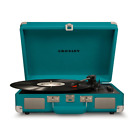 Teal Record Player Turntable Vintage Inspired Bluetooth for Digital Music