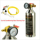 Car A C System Air Conditioning Pipe Flush Canister Clean Tool Set R134a R12 R22