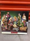 Christmas Nativity Scene Set Figures Polyresin Figurines Baby Jesus 11 PIECE SET