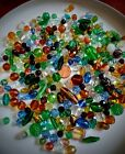 RARE VINTAGE BEADS 175+ Mostly GLASS Assorted Shapes Sizes and Colors