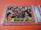 1962 Topps #143 greatest hero BABE RUTH psa 7 New York Yankees (052