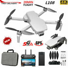 L108 Foldable GPS FPV Drone 4K HD Camera WIFI 5G Brushless Selfie RC Quadcopter