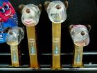 Limited Release Happy EASTER 2020 Barky Brown Metallic Pez set  $3.99 U.S. Ship