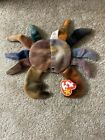 Ty Claude Beanie Baby-PVC-Errors-Retired-Mint Condition-Collectible-Very Rare