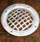 Vintage Underwater Swimming Pool Round Brass Grille Frame Submersible Light 11