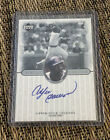 Andre Dawson Signed 2000 UD Legends Legendary Signatures On Card Auto Autograph