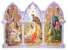 Religious Gifts Triptych Standing Nativity Advent Calendar with Die Cut Pull 11