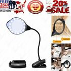 Joypea Magnifying Glass Lamp2X 4X Magnifier LED Light with Clip and Flexible