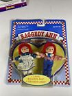 Vintage Raggedy Ann  Friends Andy Johnny Gruelle 70112 Classic 1997 Kenner JJ