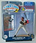 KEN GRIFFEY JR. Cincinnati Reds Action Figure & 2001 MLB Card  STARTING LINEUP 2