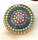 Lovely Vintage Perthshire Scotland Millefiori Paperweight