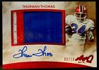 Thurman Thomas Cards, Rookie Cards and Autographed Memorabilia Guide 12