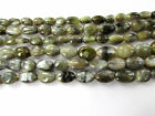 Genuine Natural Real Cats Eye Smooth Oval Beads Loose Strand Jewelry Making
