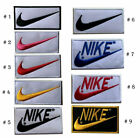 Pack of 100 pcs NIKE Sports badges logo Embroidered sew on iron on Patch