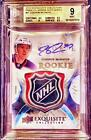 2015-16 Exquisite Connor McDavid 1 1 RPA NHL Shield Logo Patch BGS 9.5 10 AUTO