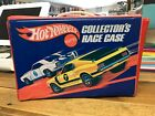 VINTAGE 1969 HOT WHEELS COLLECTORS RACE CARRY CASE W TRAYS HOLDS 24