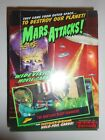 1996 MARS ATTACKS WIDEVISION WAX BOX FOIL CARDS TOPPS *36 FACTORY SEALED PACKS*