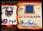 BARRY SANDERS-2020 Leaf ITG (#1 3) JERSEY AUTO AUTOGRAPH GEM-MINT? 1 1 Type
