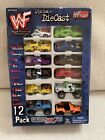 WWF 1 64 Scale Diecast Cars 12 Pack Set Wresting 1999 NEW Vintage Toy Island WWE