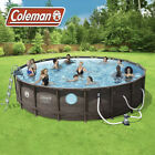 Coleman 22ft x 52 Power Steel Swim Vista II Swimming Pool SEND OFFERS