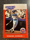 Howard Johnson Mets 1988 Starting Lineup CARD ONLY NEAR MINT