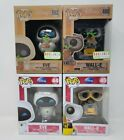 4 x Funko POP! Disney Wall-E & Eve Earth Day BoxLunch Exclusives + Original Pair