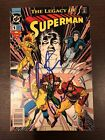 Legacy of Superman #1 Christopher Reeve Autograph COA