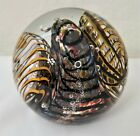 Very Collectible LARGE Lindsay Art Glass Paperweight 1999