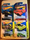 2013 Mattel Hot Wheels Lot Of 4