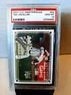 2007 Upper Deck Masterpieces Tim Lincecum RC Rookie PSA 10 SF Giants CY Young