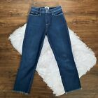 Paige Womens Sz 26 Hoxton High Rise Cropped Slim Jeans