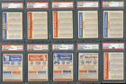 Extremely Rare NM-MT PSA Graded 1957 Topps Baseball Card Set Hits eBay; One of the Highest Graded '57 Sets Ever Assembled 2