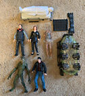 X-files Action Figure Lot x4 Figures - Moulder, Scully Todd 1998 McFarlane FOX