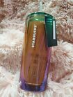 Starbucks iridescent Limited Edition Glass tumbler