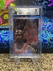 1996-97 Flair Showcase Michael Jordan #23 Row 0 BGS 9